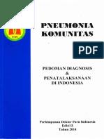 Pneumonia Komunitas 2014