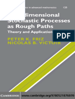 Multidimensional Stochastic Processes as Rough Paths Theory and Applications