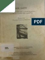 La Producción de la Naturaleza - La Producción Espacio - Neil Smith