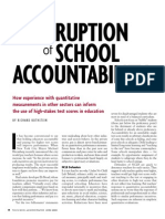 The Corruption of School Accountability
