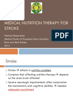 K22 - Senior - Medical Nutritional Therapy for Stroke
