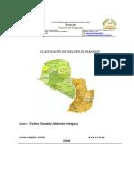 CLASIFICACIÓN DE SUELOS EN EL PARAGUAY