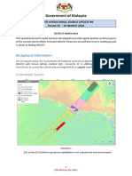 MH370 Operational Search Update #9  Period 19 – 25 MARCH 2018