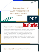 lo1 part 2-analysis of uk based magazine and newspaper product