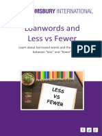Less vs Fewer Book