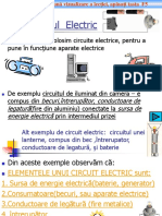 0elemente de Circuit Electric Clasa6