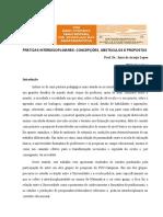 Práticas Interdisciplinares - Concepções, Obstáculos e Propostas
