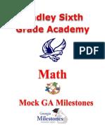 lsga math mock milestone student version