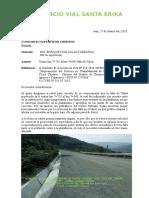 CVSE Nº019.03.18-Tramo km 7+720 al km 7+840-Falla en Talud