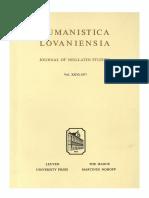 Humanistica Lovaniensia Vol. 26, 1977.pdf