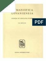 Humanistica Lovaniensia Vol. 27, 1978.pdf