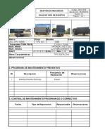 Ficha de Vehiculo