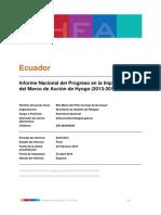 Implementacion Hyogo Ecuador