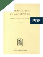 Humanistica Lovaniensia Vol. 29, 1980.pdf