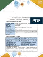 Guía de Actividades y Rúbrica de Evaluación - Paso 1 - Expresión de Opiniones, Impresiones y Juicios