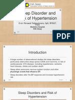 6. Sleep Disorder and Risk of Hypertension - Rimawati