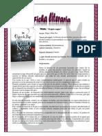 Ficha Literaria El Gato Negro