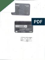 Ejemplo Tarjeta de Debito