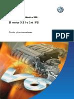 Motor Didactico VW