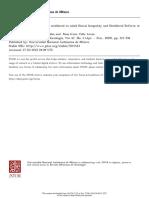 Desigualdad Social y Reforma Neoliberal en Salud