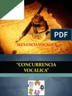 Concurrecia Vocálica- Tildación General