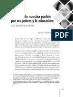 Schieler-Vinculando Pasión Por Los Pobres y Educación, La Misión Lasallista (FSC, 2015)