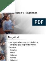 Capítulo 2. Magnitudes y Relaciones