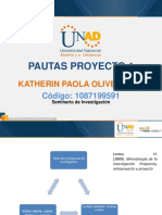 Pautas Proyecto 1