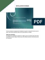 Instalación de Debian