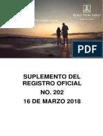 RO# 202 - S Modificar la Resolución No. NAC-DGERCGC16-00000191 y sus reformas  (16 Mzo.2018).pdf