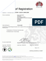 ISO TS 16949 Certificate Mexico