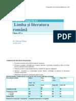 Limba Romana Marin Model