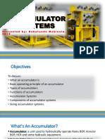 Babatunde Mobisola - Accumulator Systems