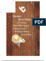 7 Steps To Installing Your Own Walkway