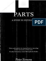 Peter Simons, 'Parts. A Study in Ontology'