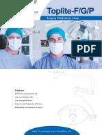Brochure Surgical Lamps Toplite-F Series En