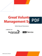 GVMS Guide Skills Based Volunteers