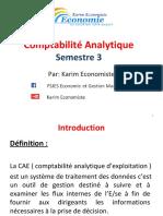 Comptabilité Analytique Partie 1 Et 2 Par Karim