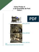 Como Probar Modulo de Ford
