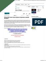 [Tutorial] Como Hacer Placas Impresas Usando Proteus - Taringa!