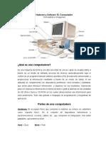 Hardware y Software de La Computadora