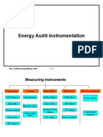 C- Energy Audit Instrumentation