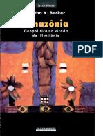 Becker - Geopolítica Da Amazônia