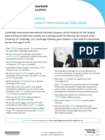 268776 Facts and Figures About Cambridge International