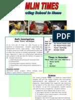 Ms. Hamlin's September 2010 Newsletter