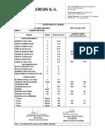1. Certificado de Calidad Del Cemento Tipo i