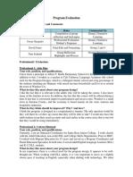 program evaluation schmitt comment 032618