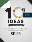 10 Ideas 2018 Journal
