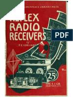 Reflex Radio Receivers 1924