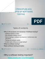 1.Basic Principles and Concepts of Software Testing
